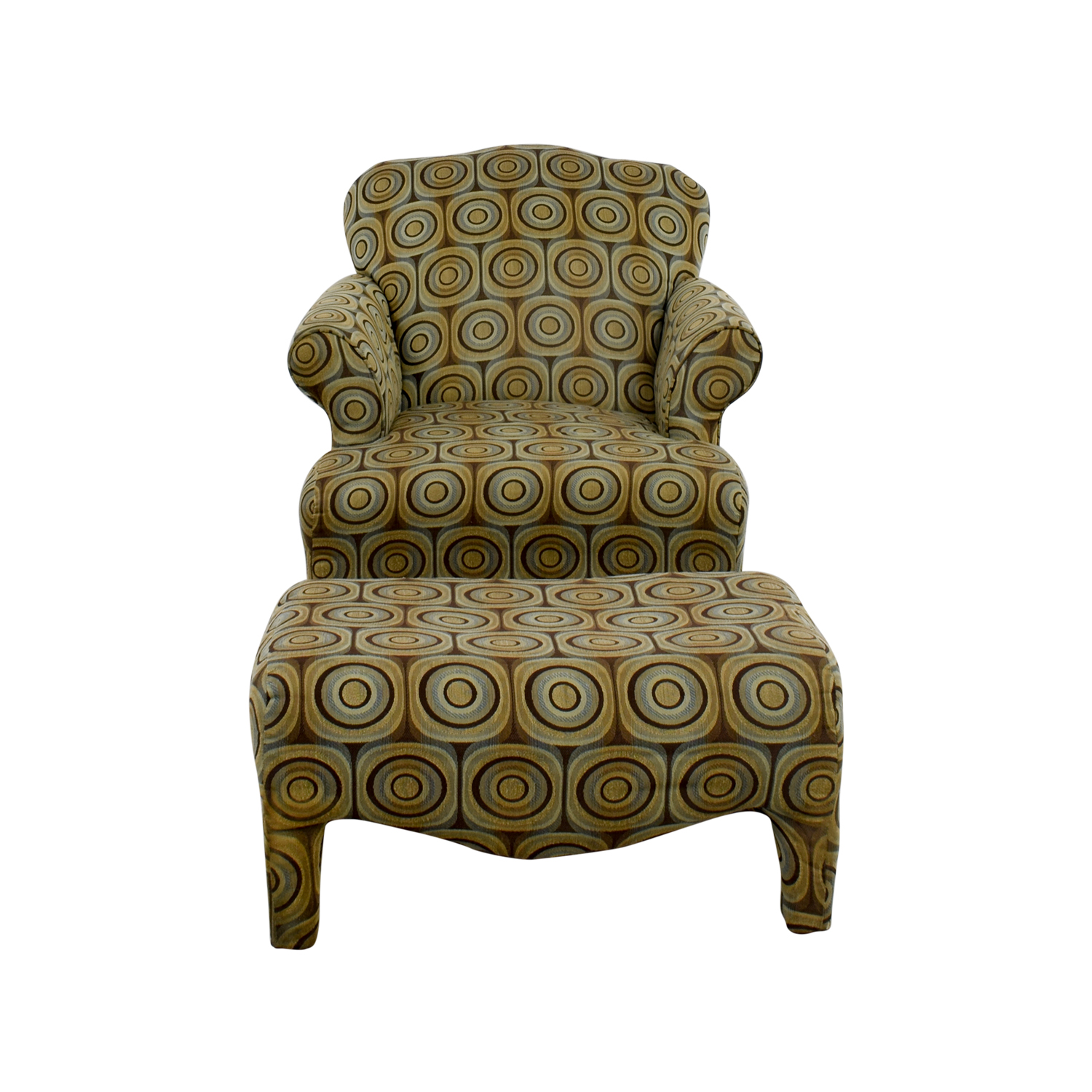 Bobs Furniture Bobs Furniture Chair and Ottoman Accent Chairs