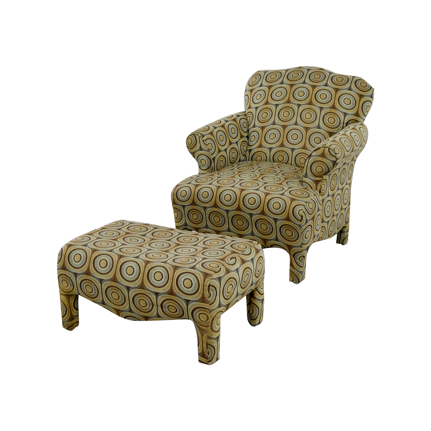 89 Off Bob 39 S Furniture Bob 39 S Furniture Chair And Ottoman Chairs