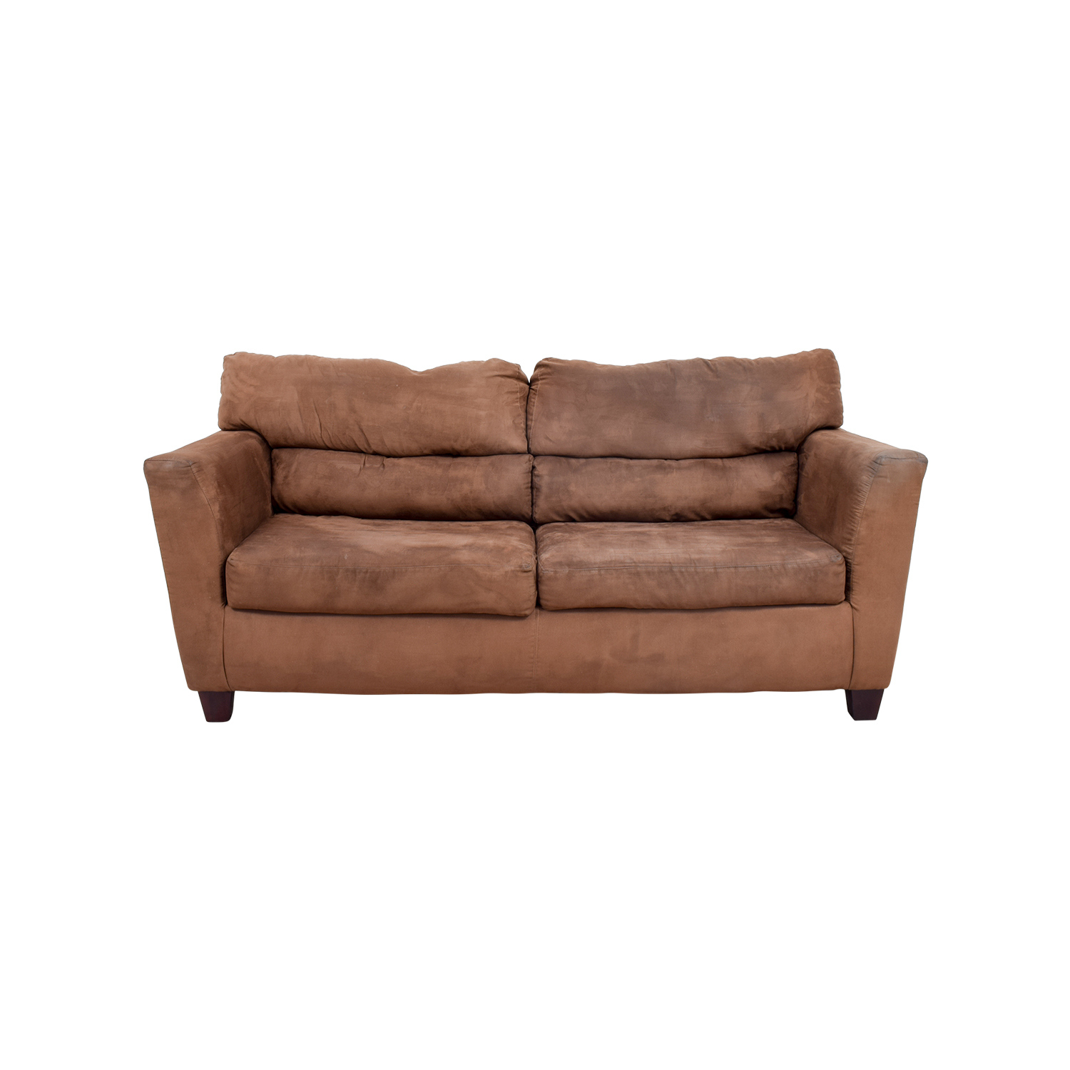 40% OFF Macy s Macy s Grey Fabric Couch and Ottoman Sofas