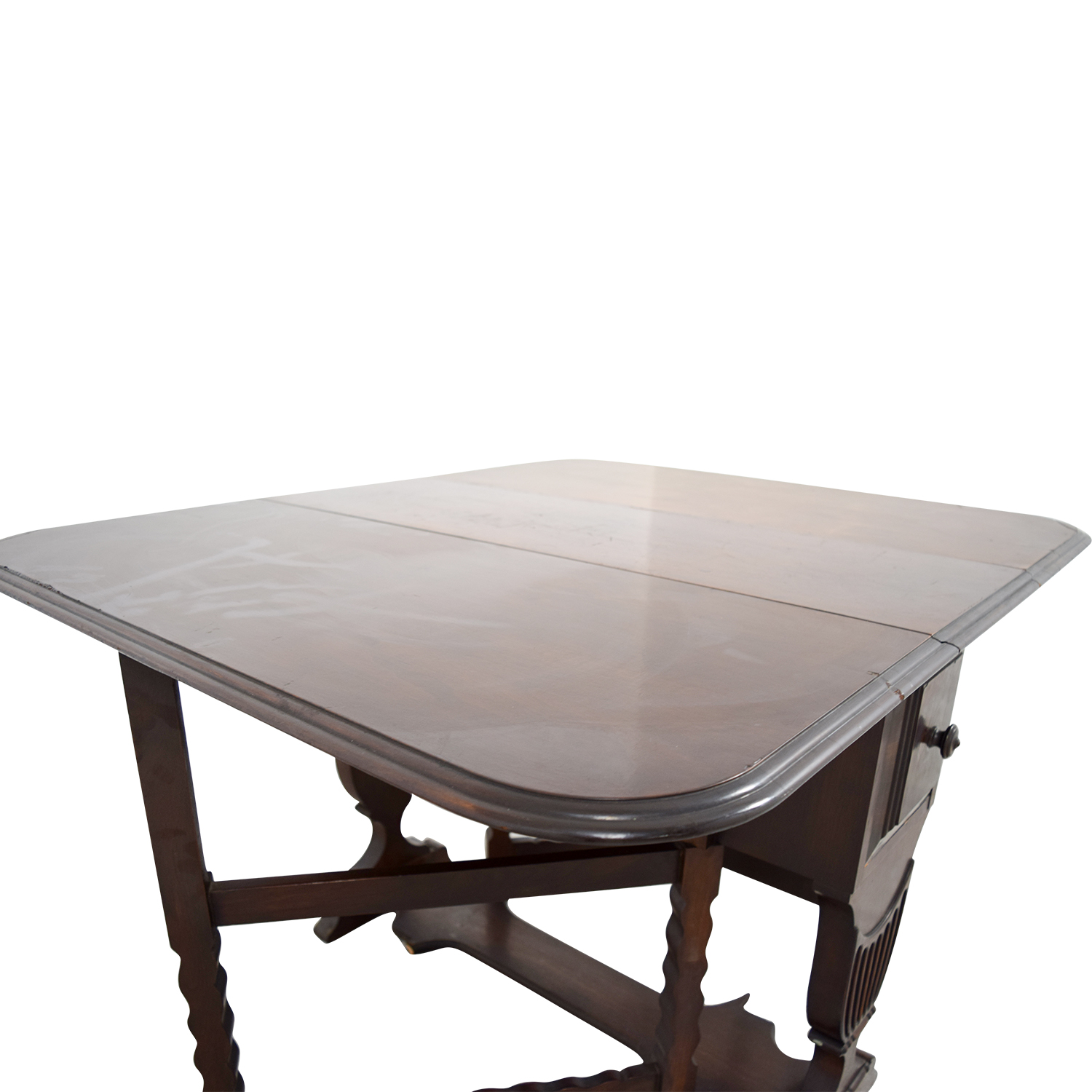 buy 1950s Drop Leaf Table with Drawers online