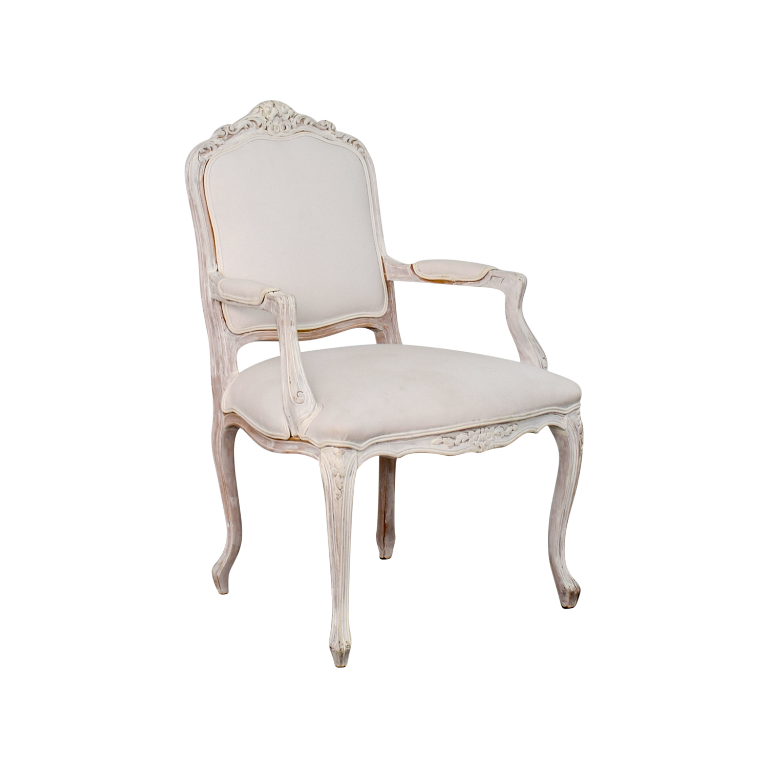 47 off antique chippendale white chair chairs for Furniture 2nd hand