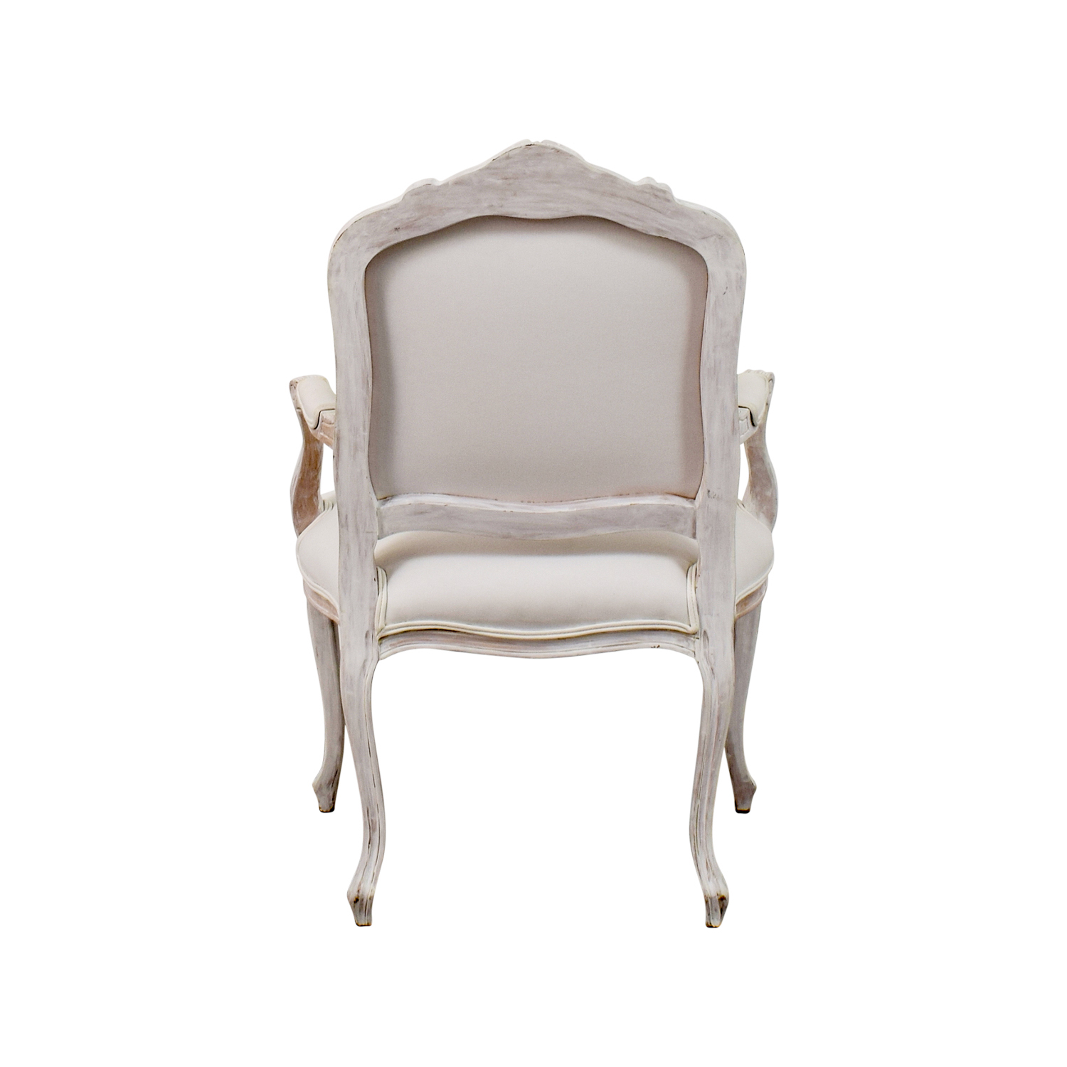 buy Antique Chippendale White Chair