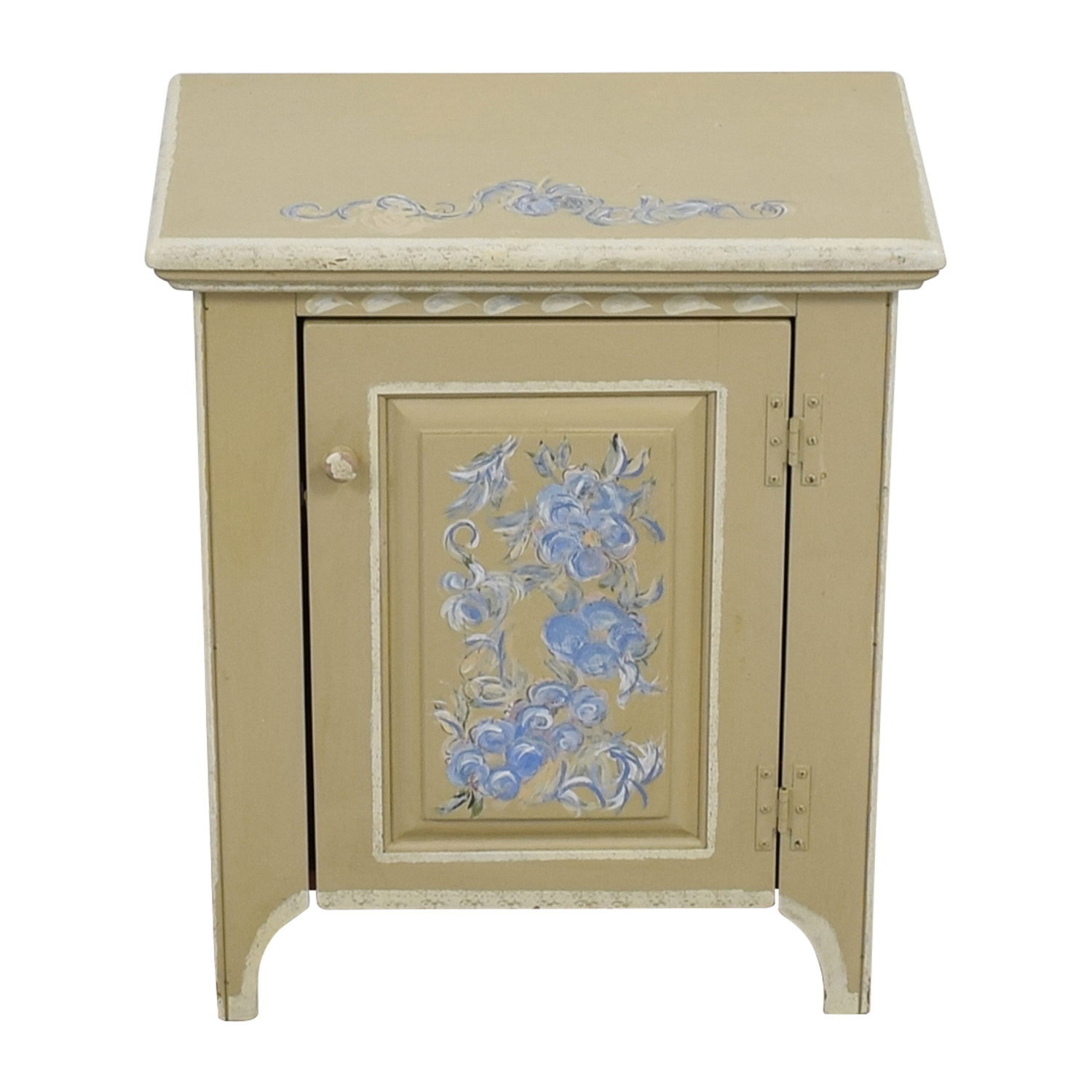 buy Stencil Painted Side Table online