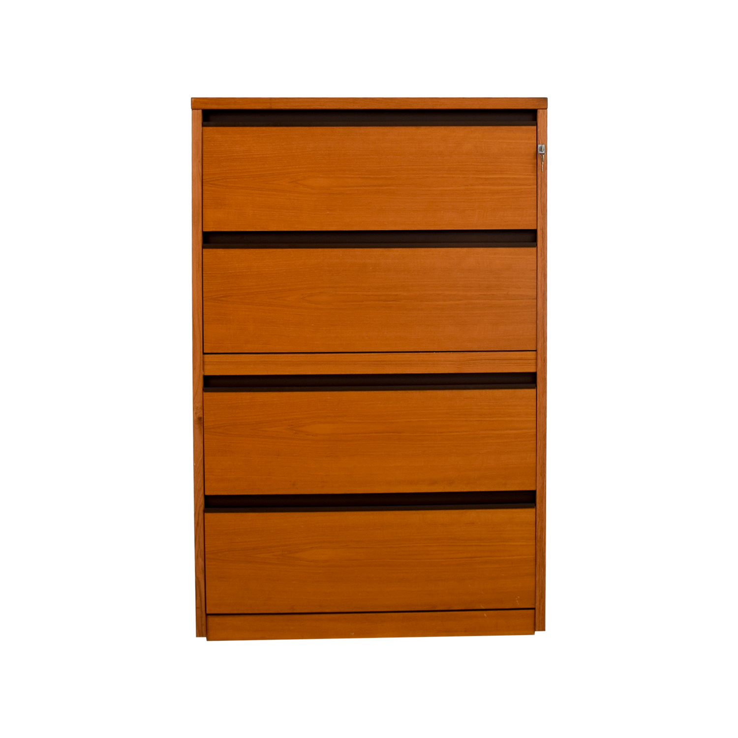 Four-Drawer Wood Dresser