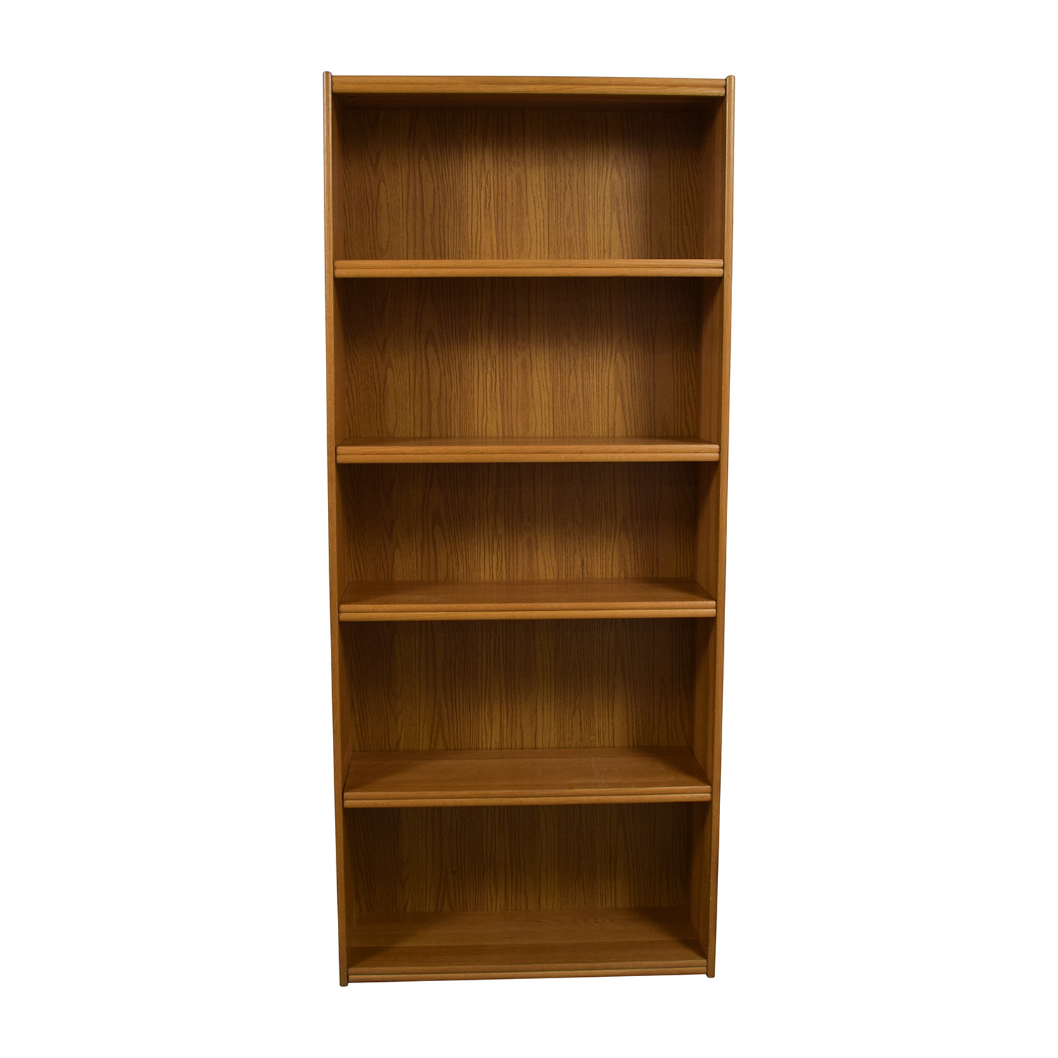 Tall Five Shelf Bookshelf sale