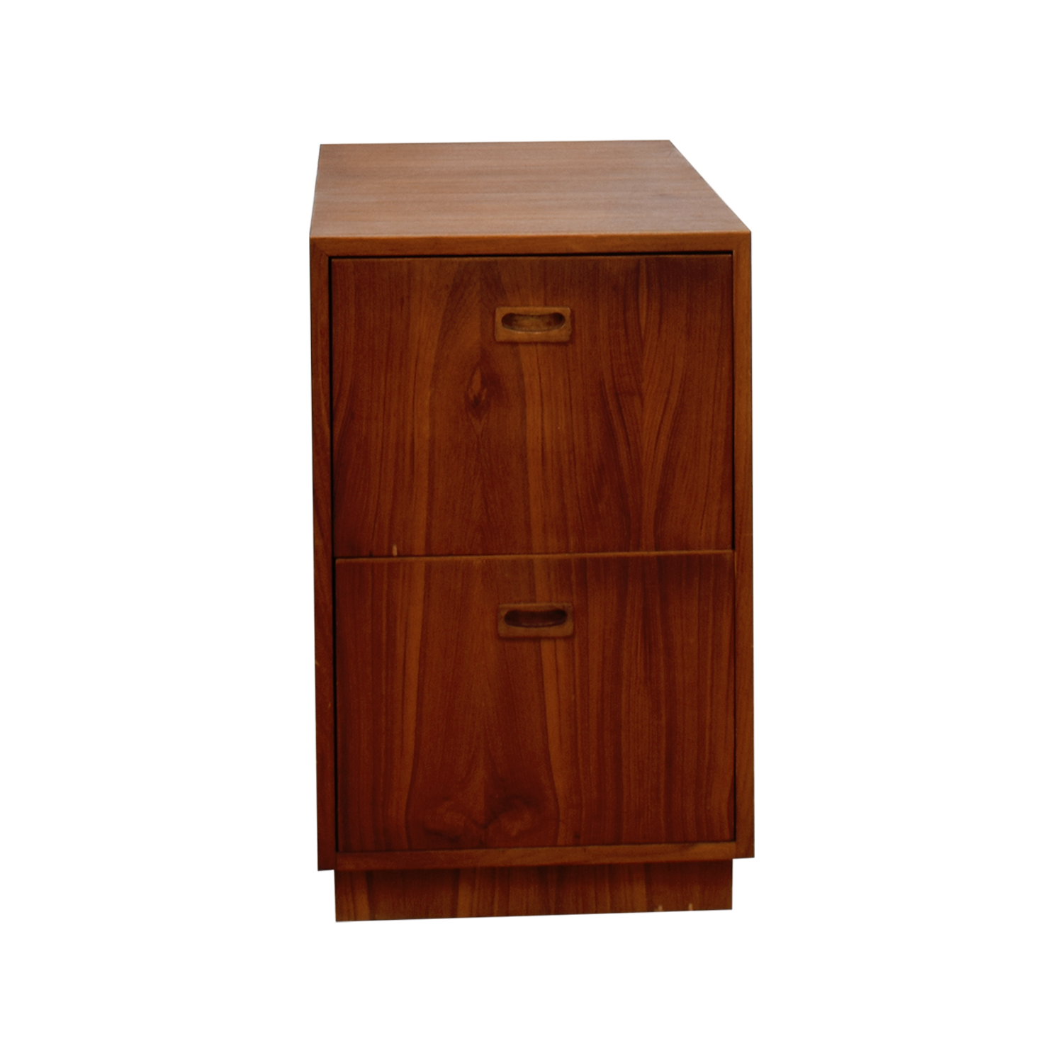 Wood File Cabinet brown