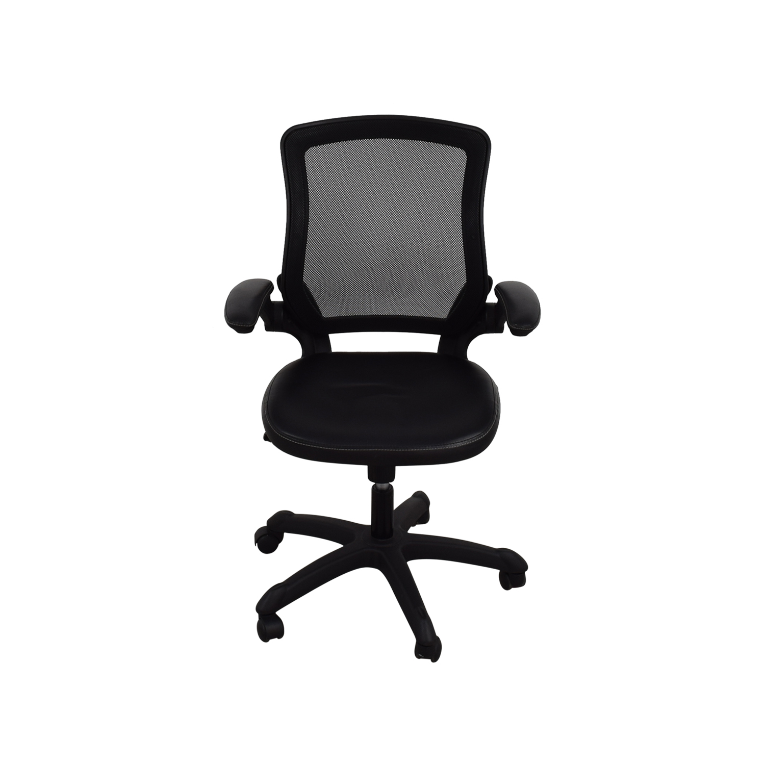 Adjustable Black Office Arm Chair coupon