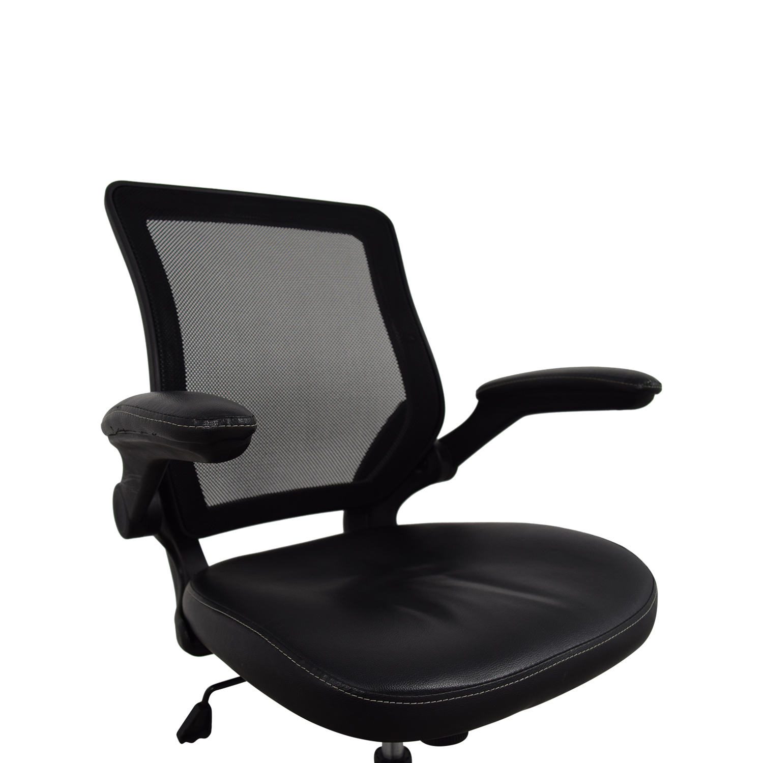 72 off adjustable black office arm chair chairs. Black Bedroom Furniture Sets. Home Design Ideas
