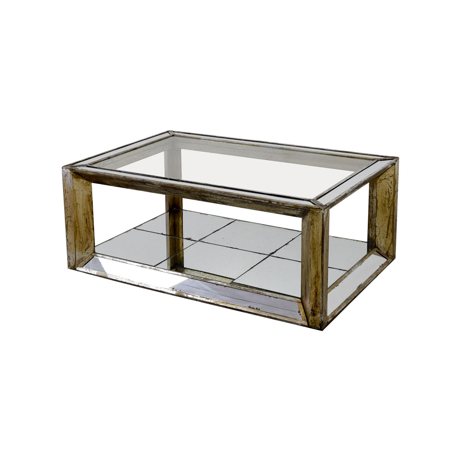 Houston Furniture Houston Furniture Mirror and Glass Coffee Table price