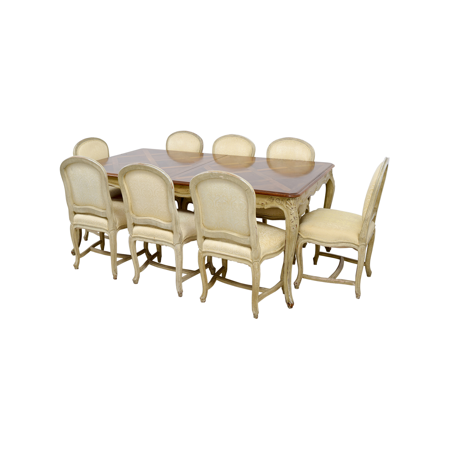 90 off formal dining table with ten chairs tables for Formal dining table