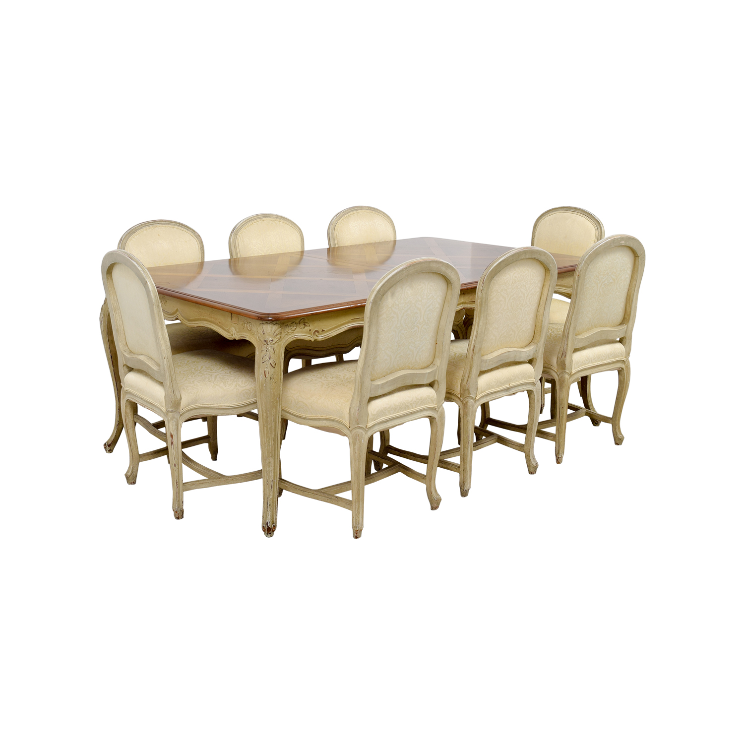 90 off formal dining table with ten chairs tables for Formal dining chairs