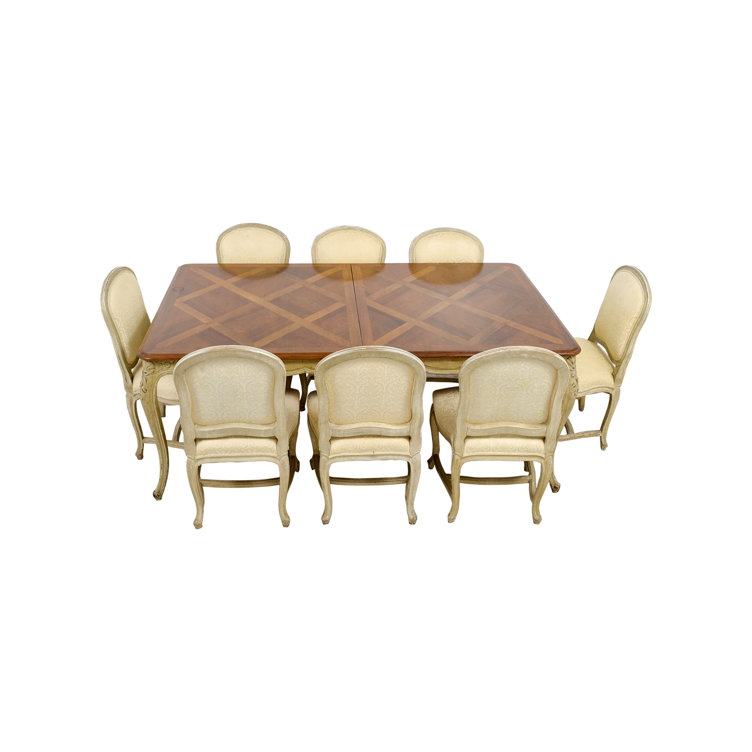 shop Formal Dining Table with Ten Chairs  Dining Sets