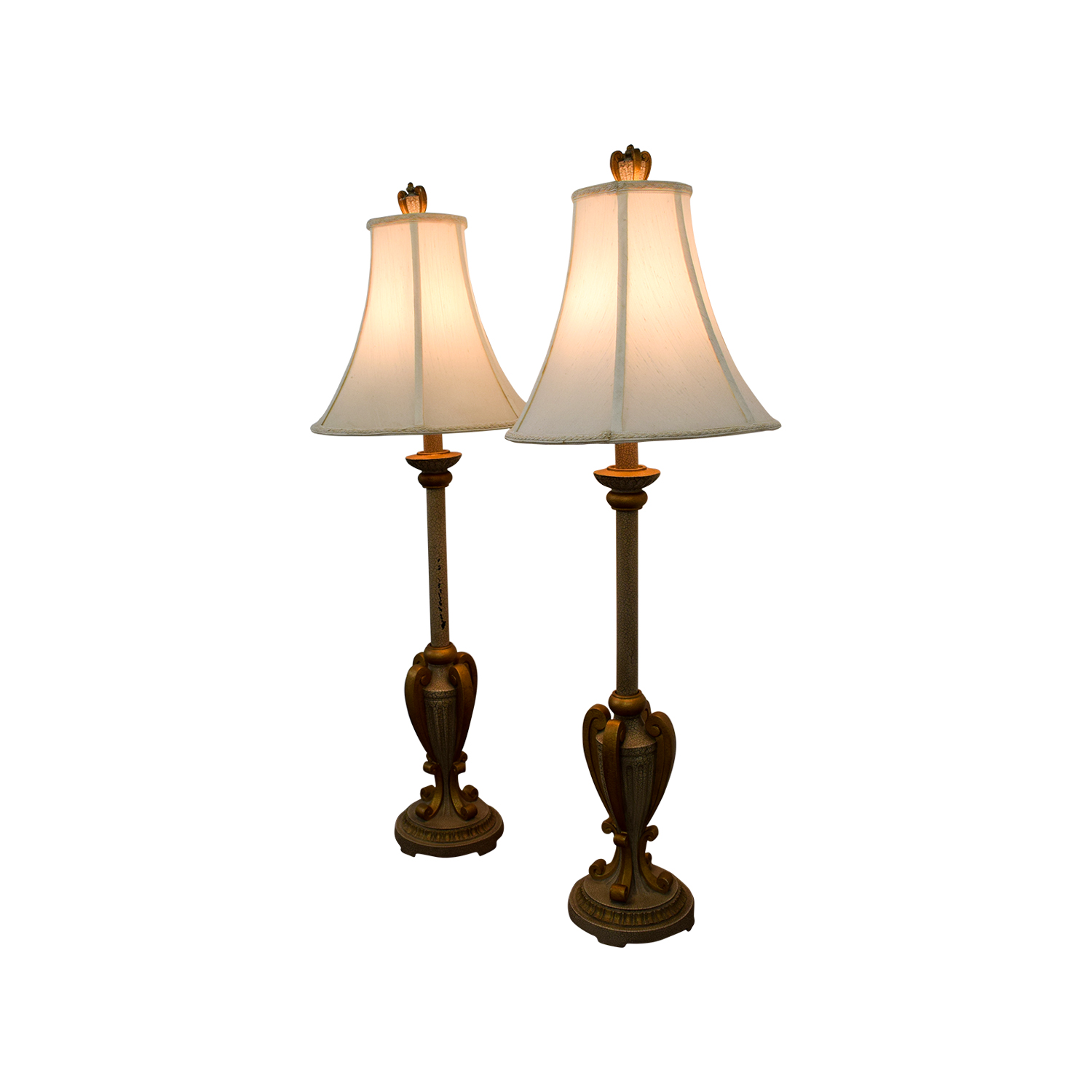 Buffet Gold Lamps used