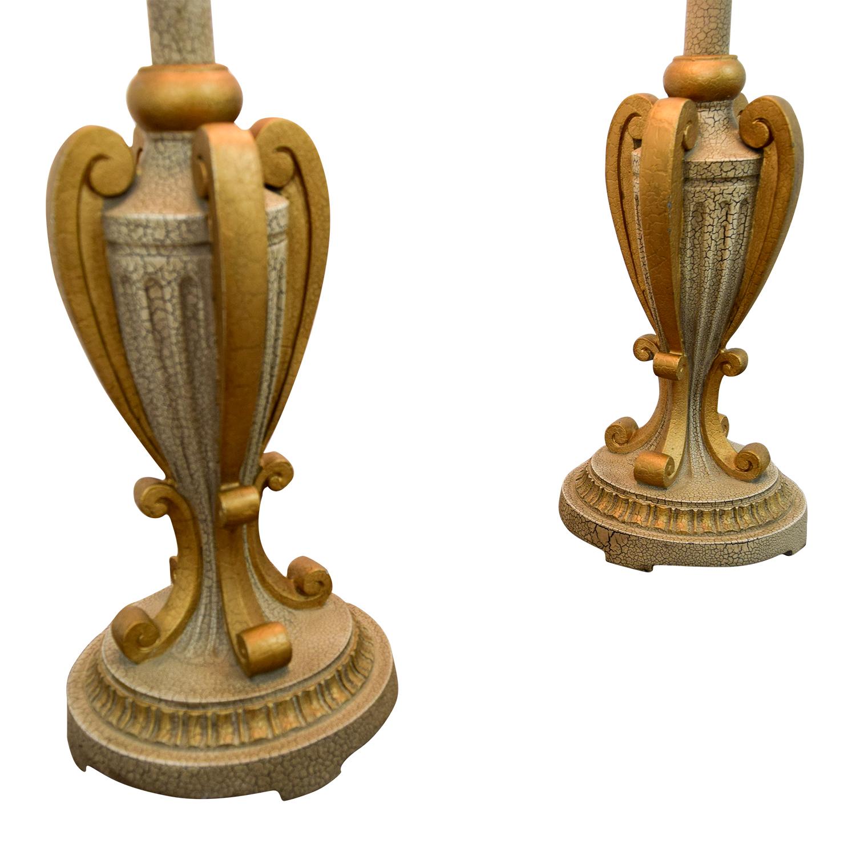 Buffet Gold Lamps / Lamps