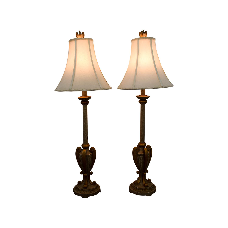 buy Buffet Gold Lamps Decor