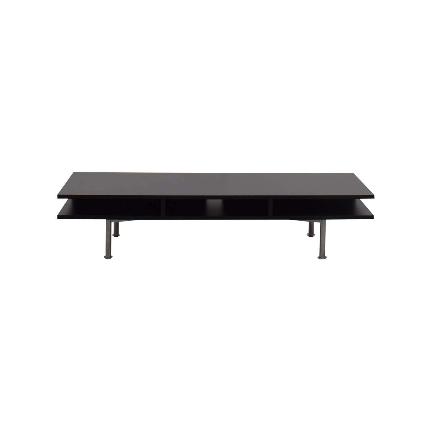 shop Modani Black Media Table Modani