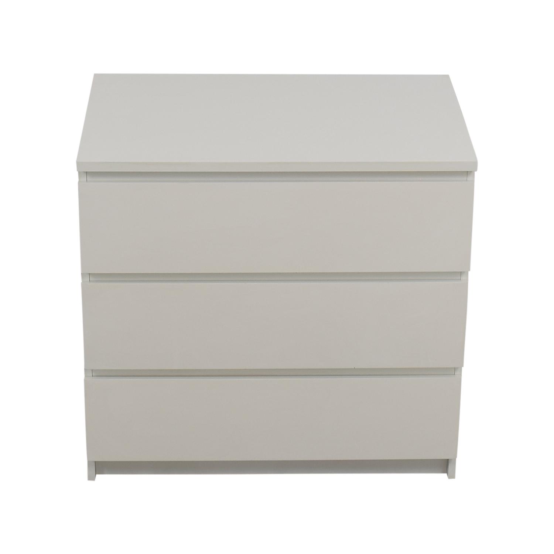 IKEA Malm White Dresser IKEA