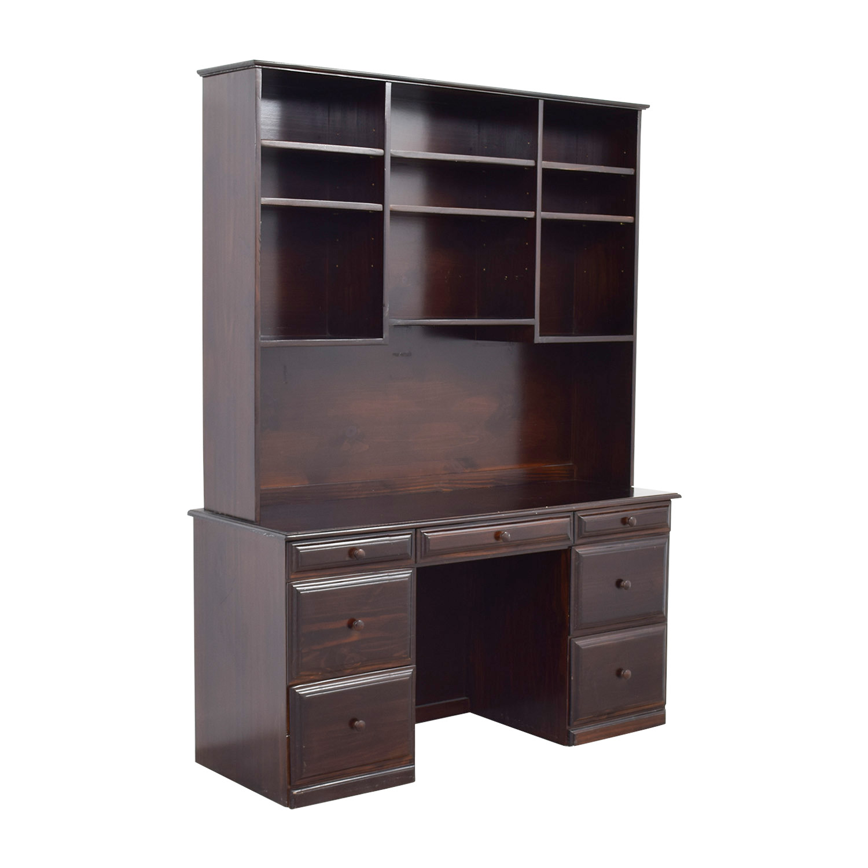 Open Shelf Hutch Desk coupon