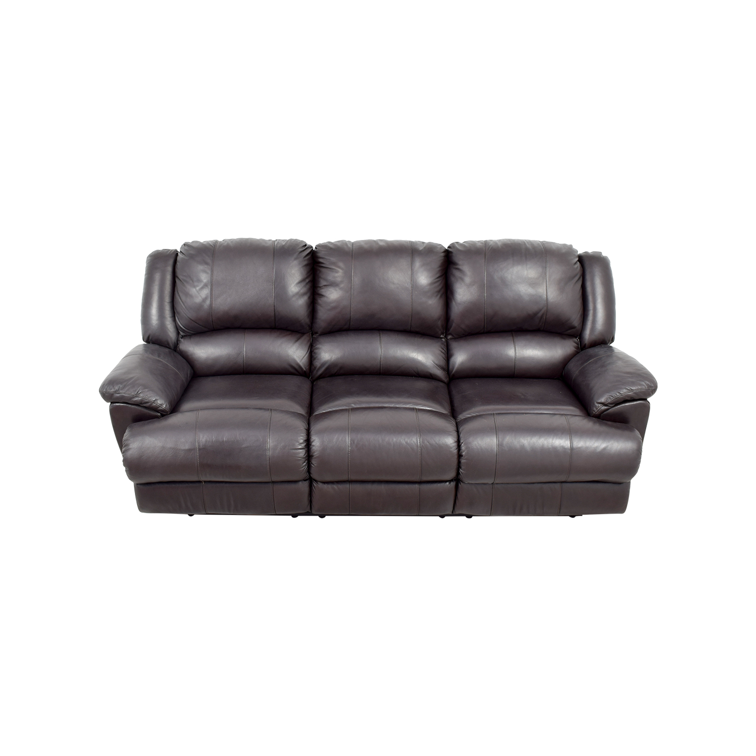 Jennifer Convertibles Jennifer Convertibles Brown Leather Sofa used
