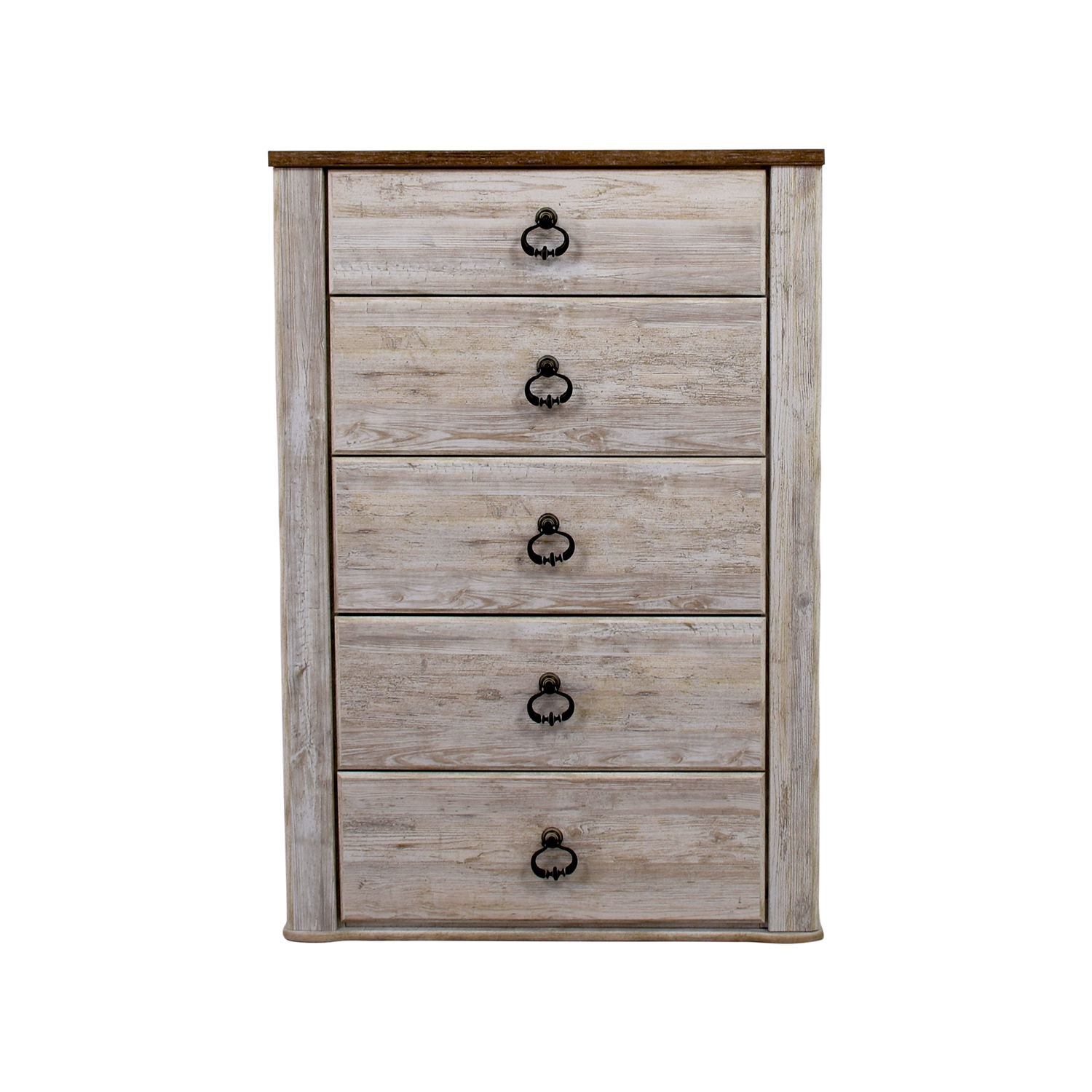 Ashley Furniture Ashley Furniture Willowtown Five-Drawer Chest dimensions