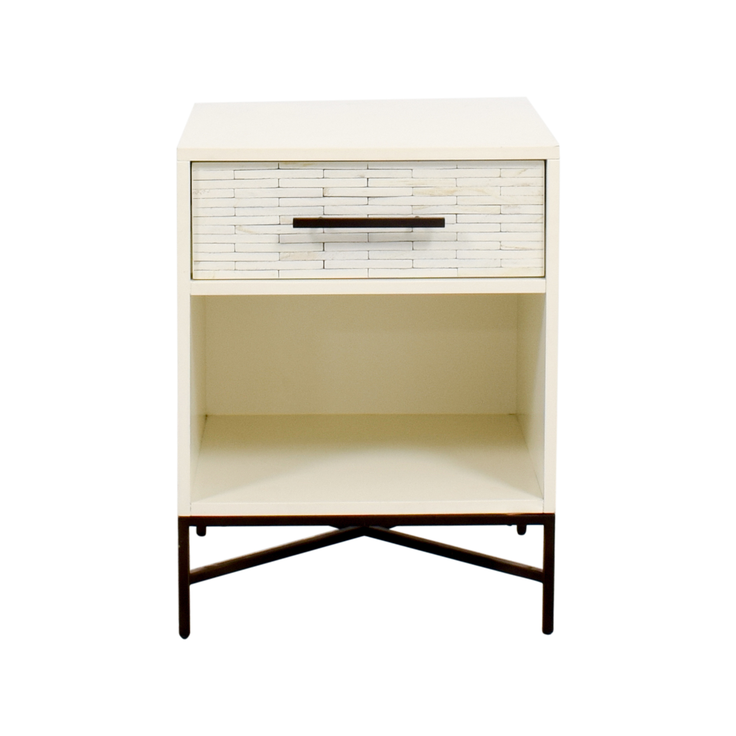 West Elm West Elm Wood-Tiled Nightstand