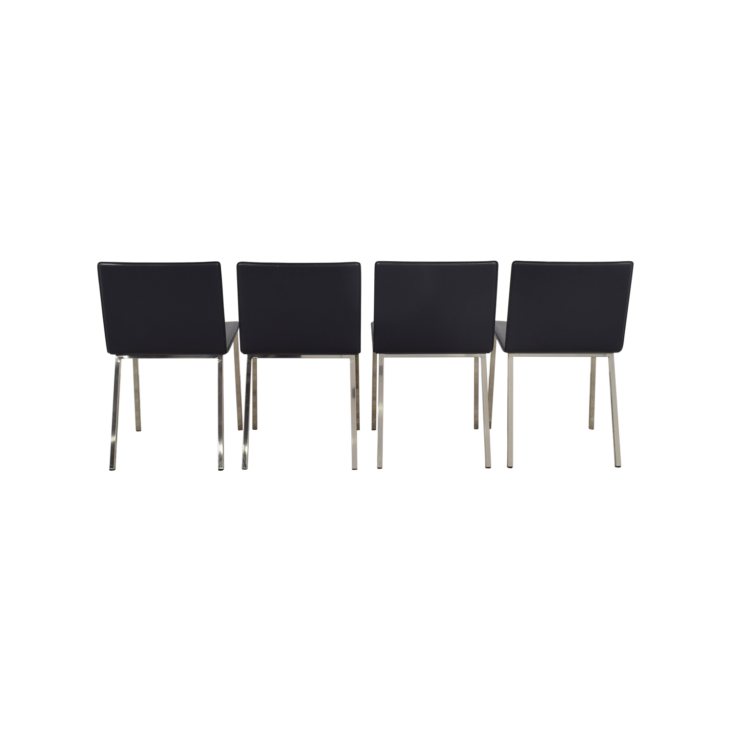 CB2 CB2 Phoenix Carbon Grey Chairs on sale