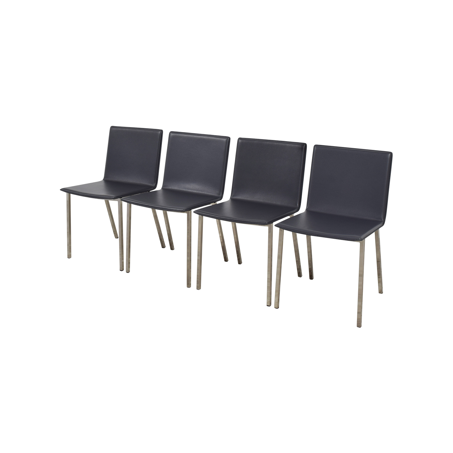 OFF CB2 CB2 Phoenix Carbon Grey Chairs Chairs