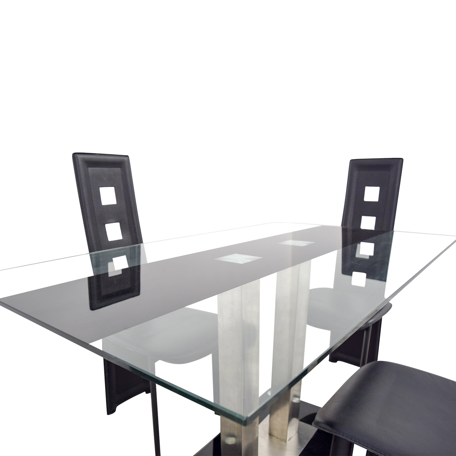 65 Off Modern Line Furniture Modern Line Furniture Black Dining