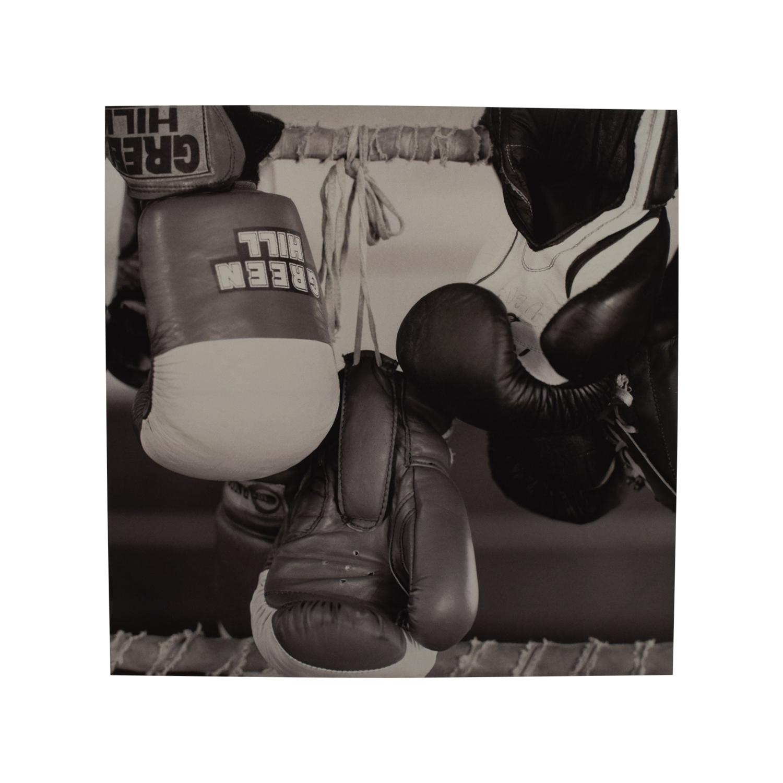 buy Black & White Boxing Painting Decor