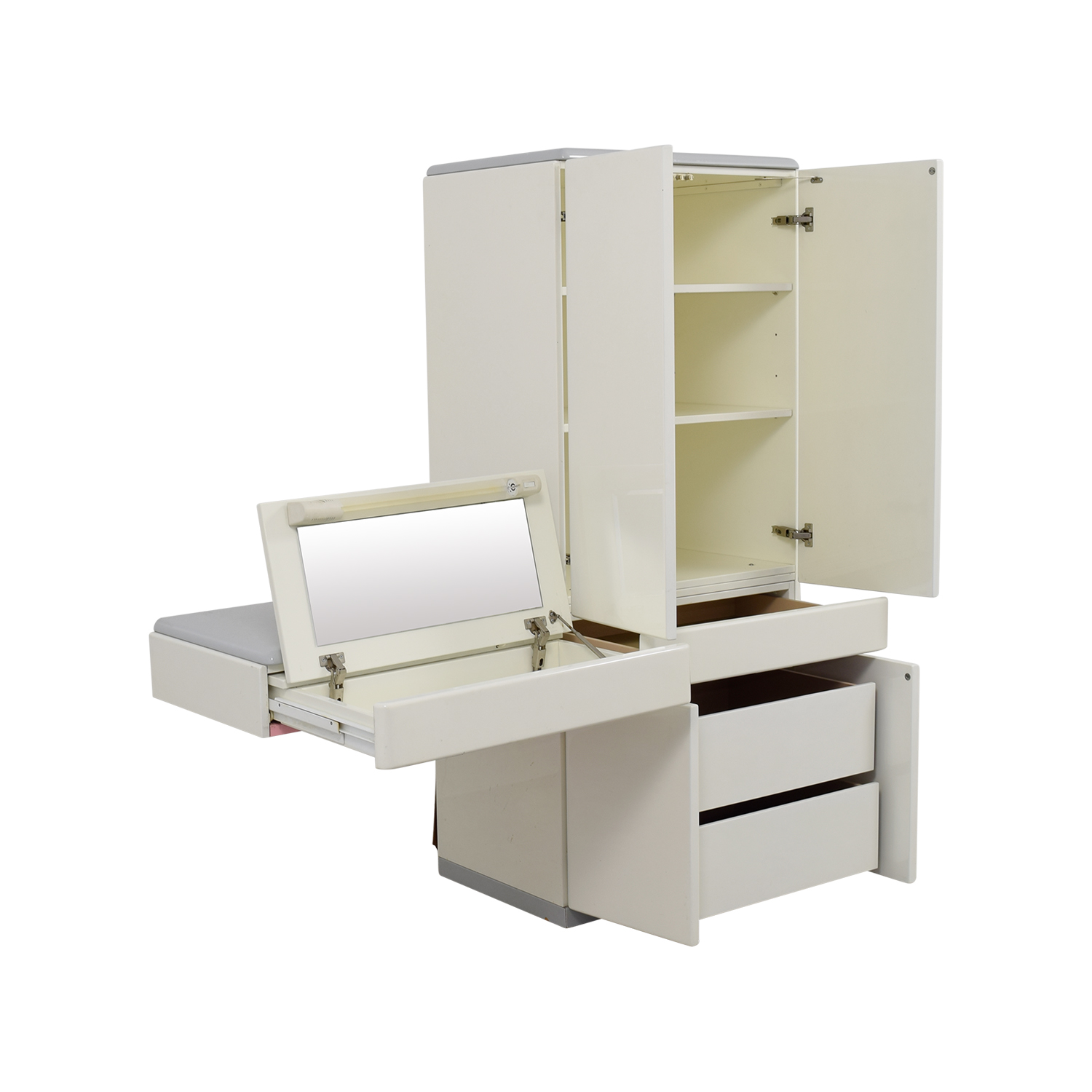 ... Buy White Wardrobe Closet Storage ...