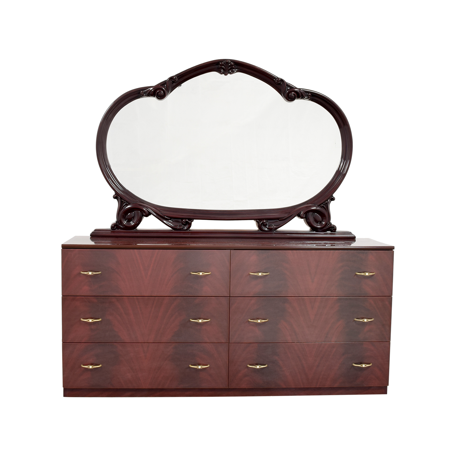 Solid Lacquered Six-Drawer Dresser coupon