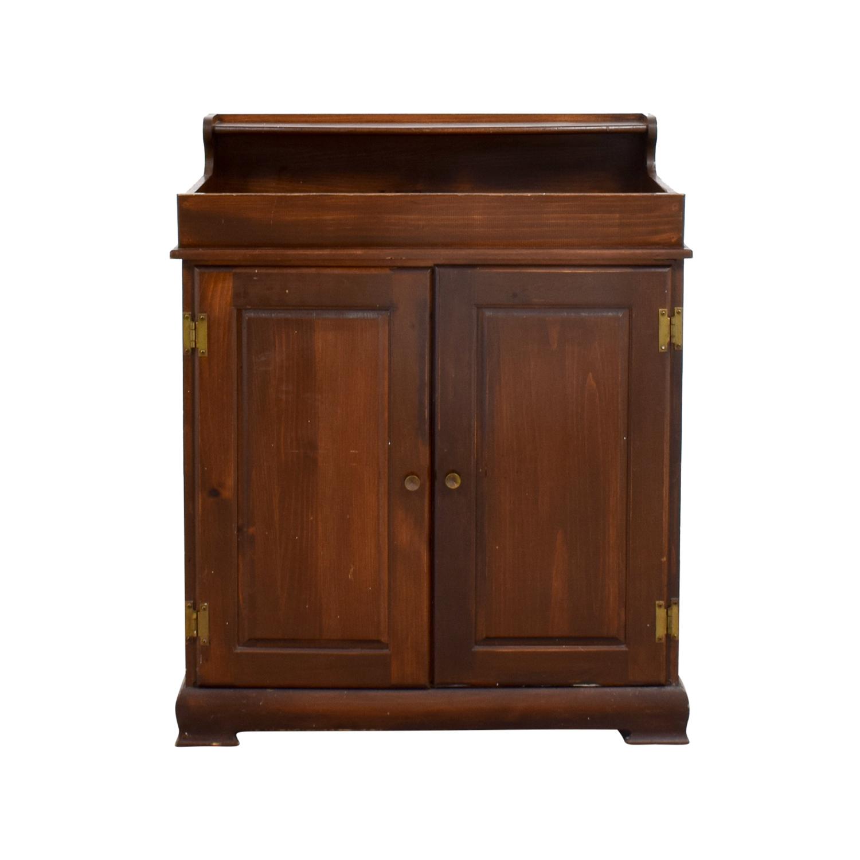 buy Wood Shelving Cabinet Storage