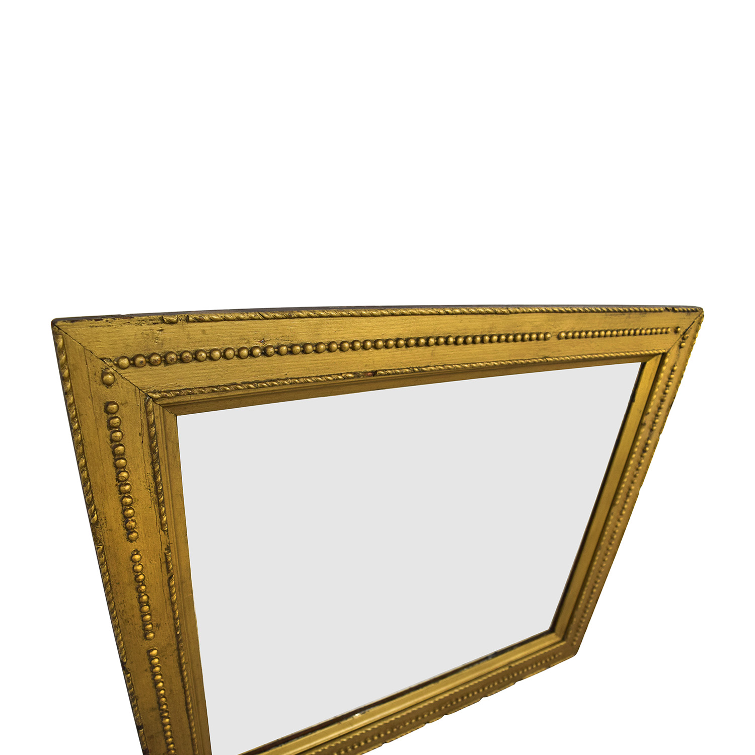 Rustic Gold Framed Mirror used