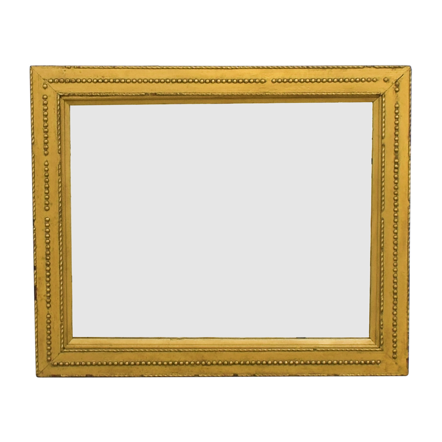 Rustic Gold Framed Mirror sale