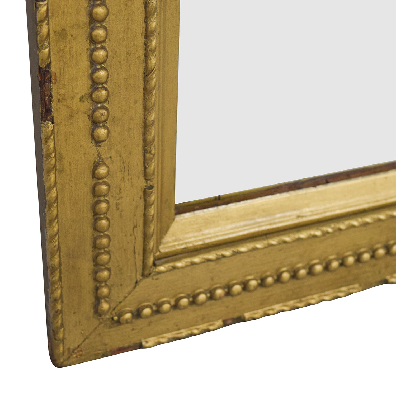 shop Rustic Gold Framed Mirror online