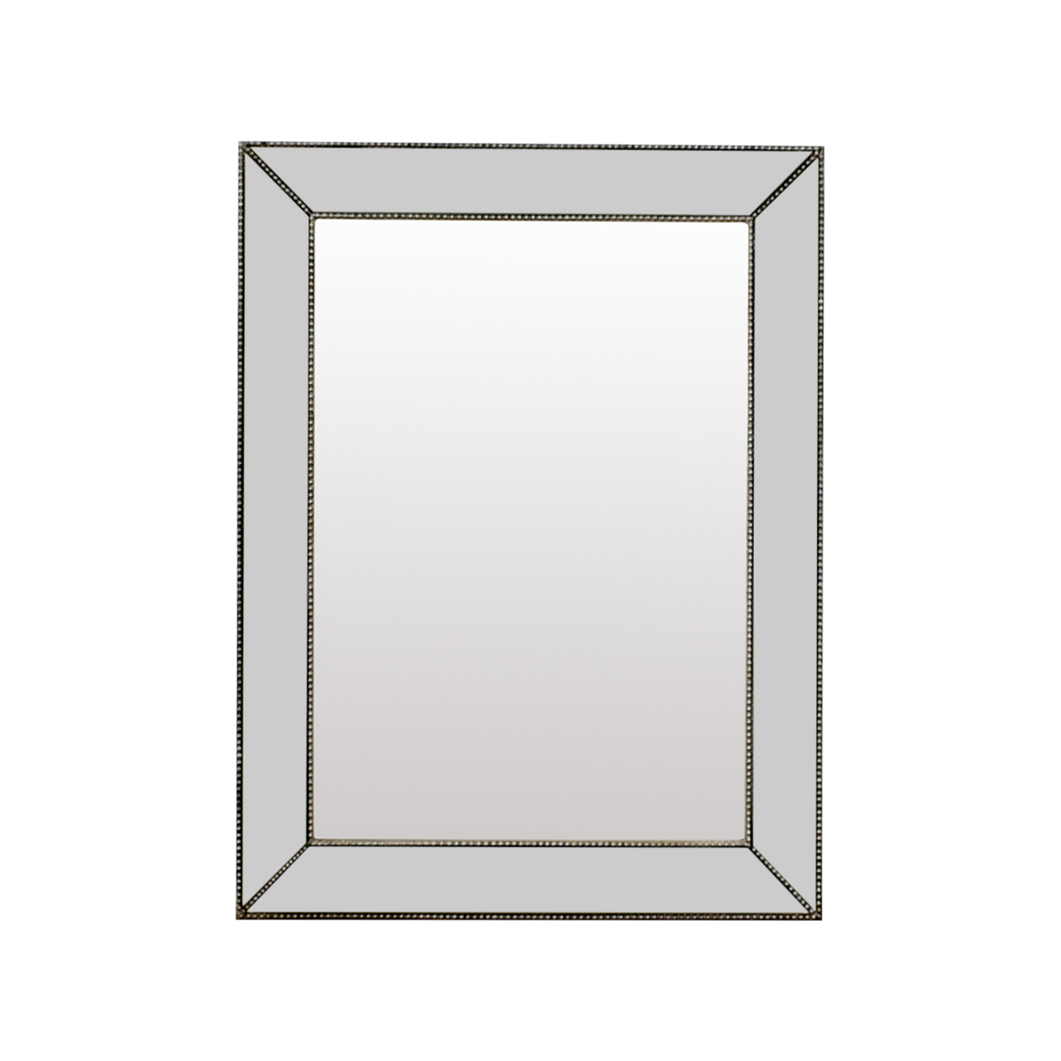 Beveled Silver Rectangle Mirror nyc