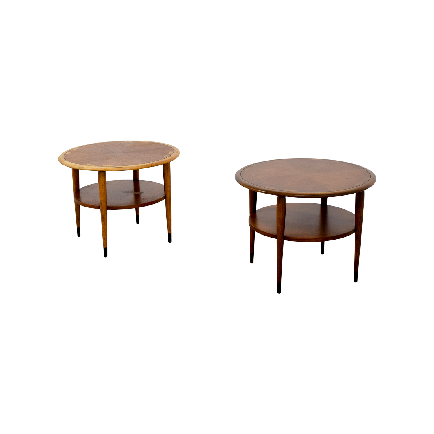 82 off lane furniture lane furniture round side tables for Lane furniture