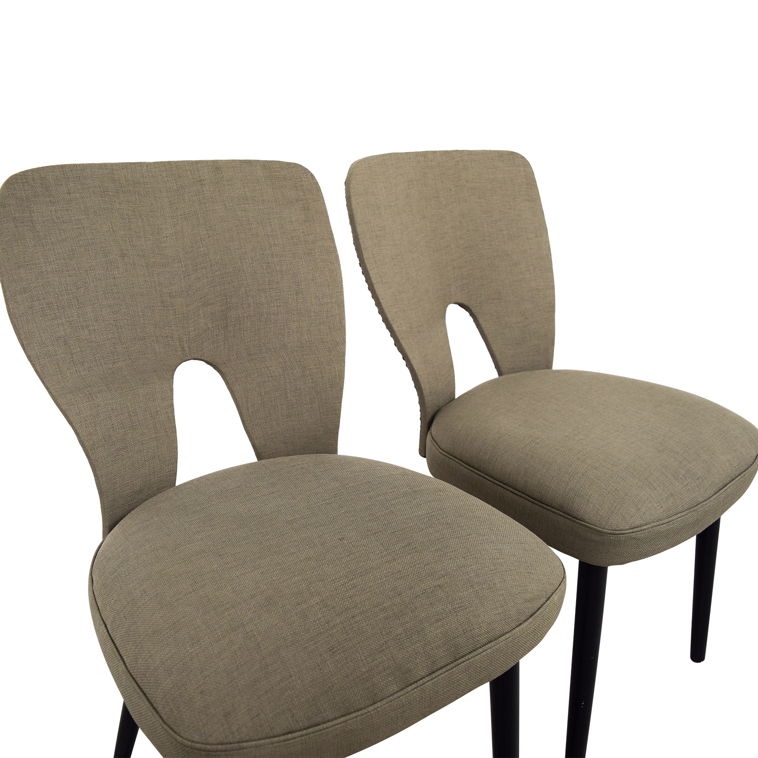 62 off wayfair wayfair upholstered beige dining chairs for Wayfair furniture dining tables