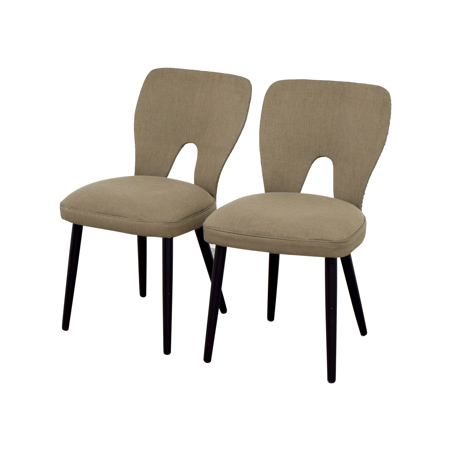 wayfair upholstered beige dining chairs dining chairs - Wayfair Dining Chairs