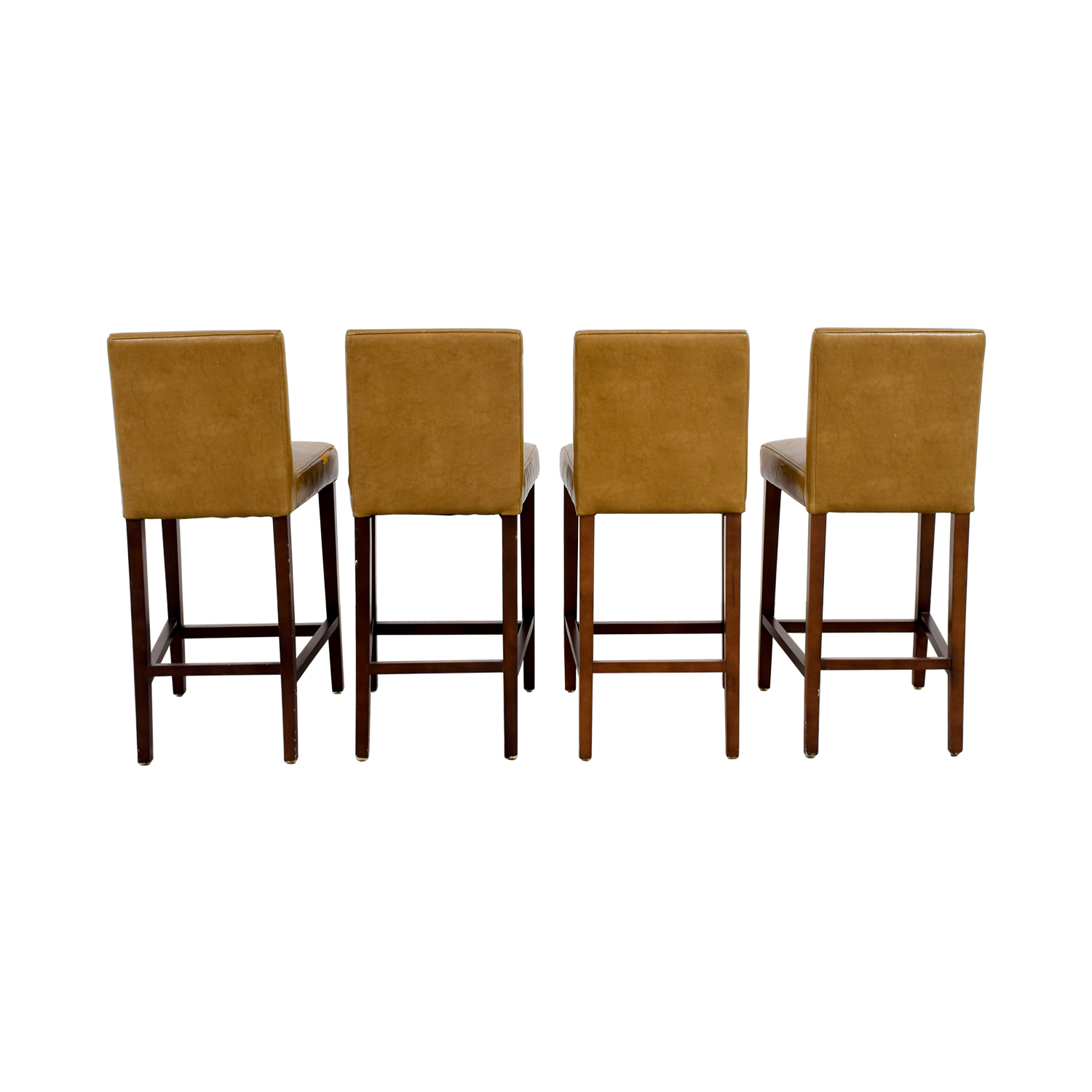 West Elm West Elm Faux Leather Stools nyc