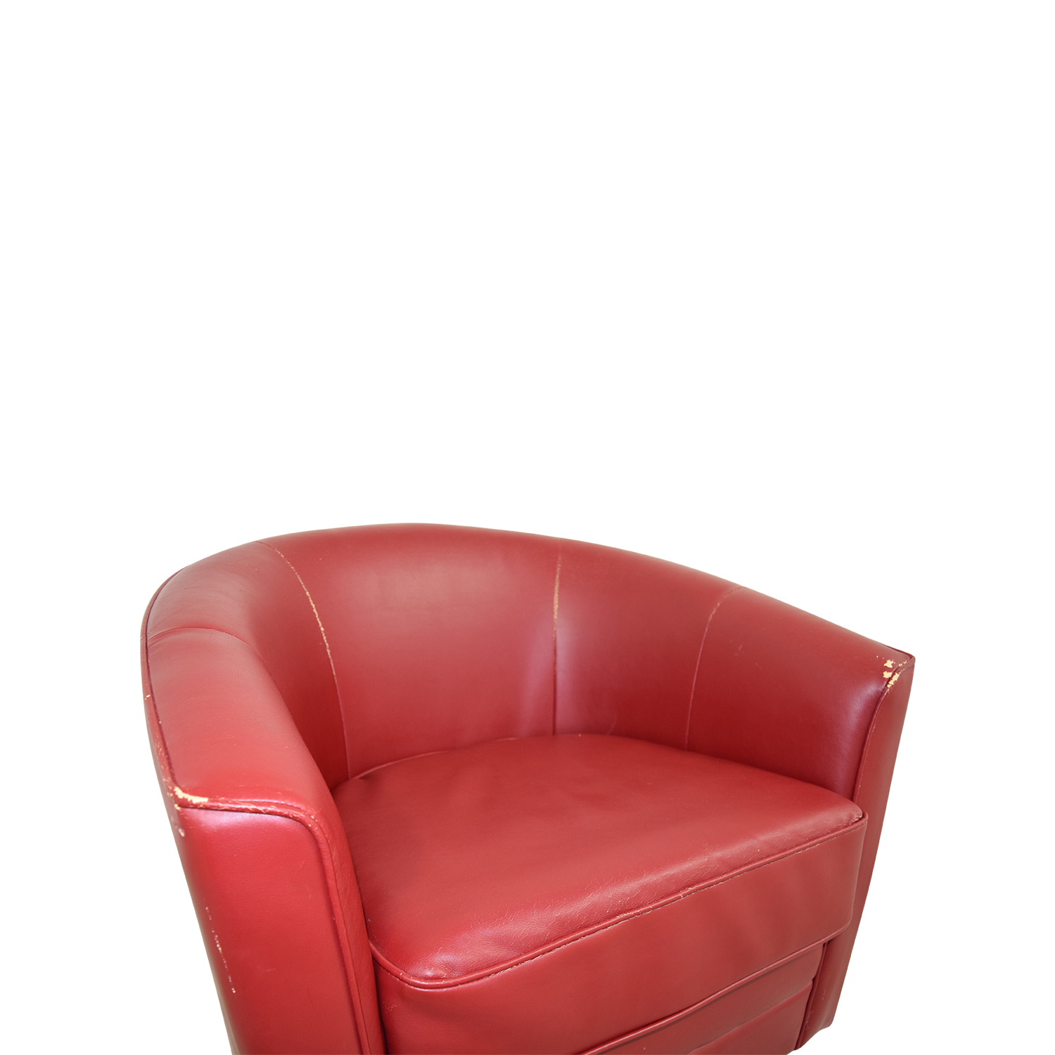 90 Off Bob S Furniture Bob S Furniture Red Leather