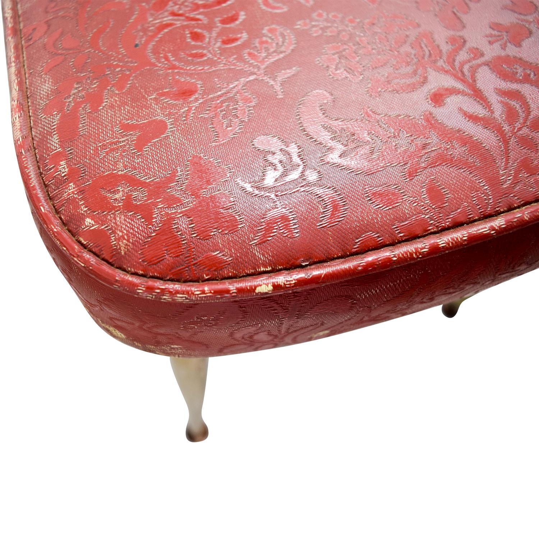 sale retailer 14de8 76c08 65% OFF - Retro Red Dinette Set / Tables