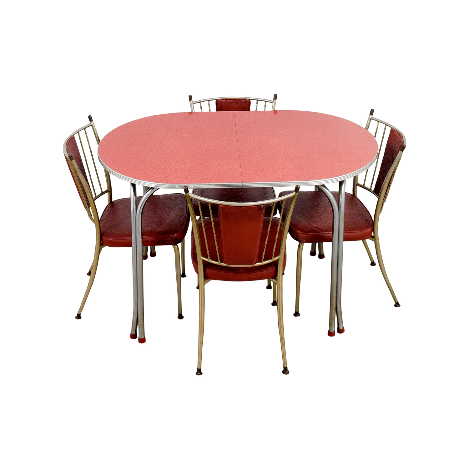 shop Retro Red Dinette Set  Tables