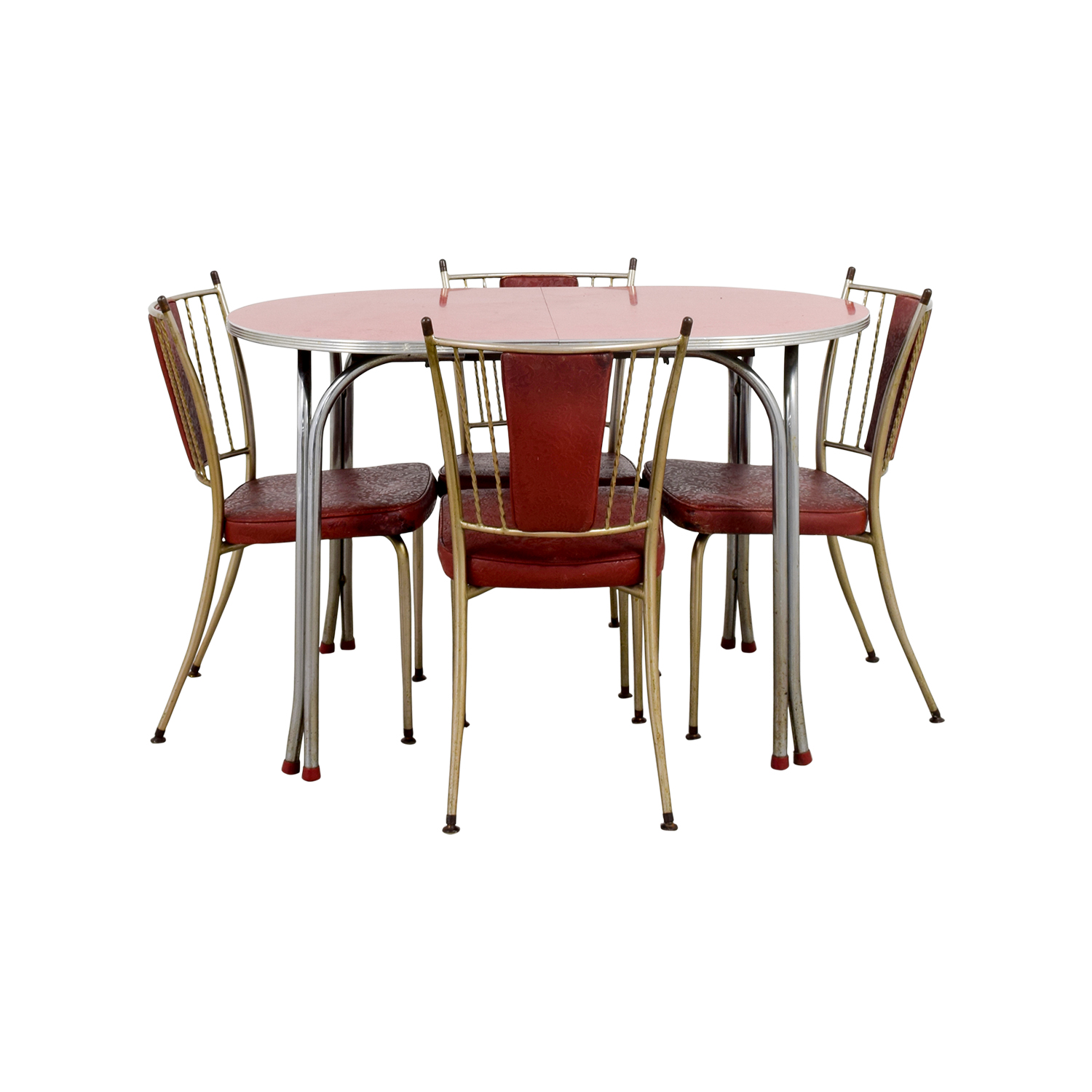 shop Retro Red Dinette Set