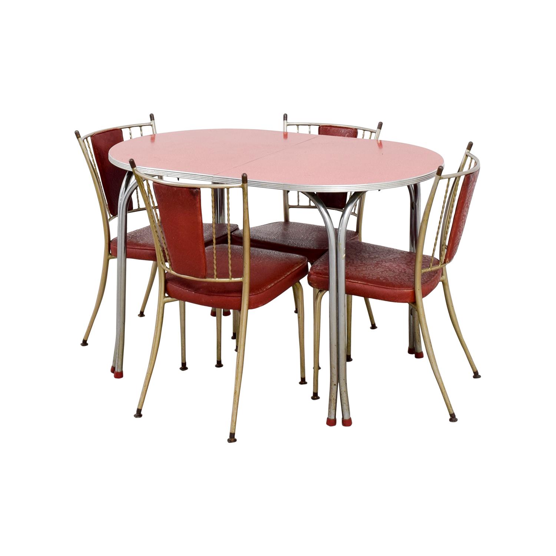 ... Shop Retro Red Dinette Set Tables ...