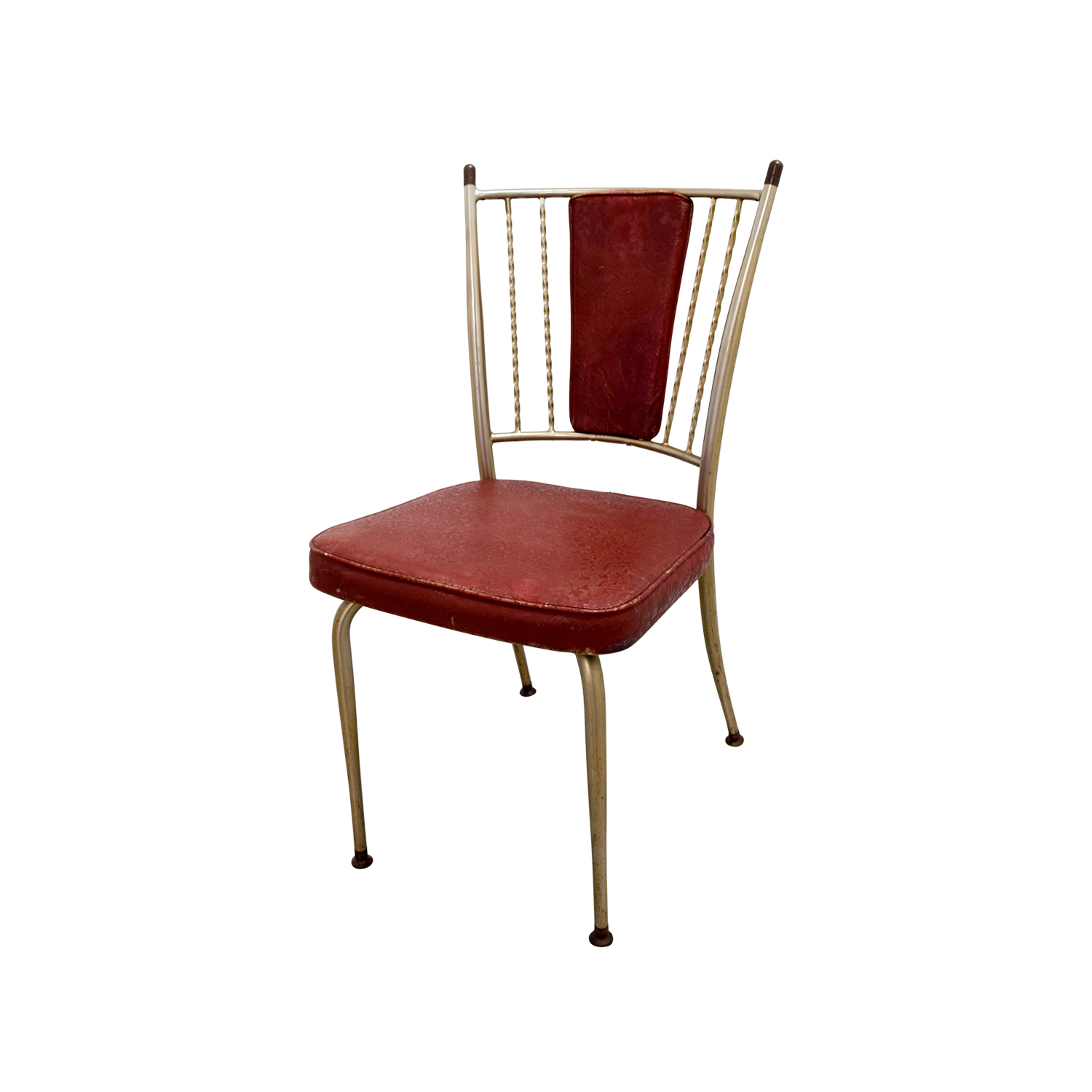 Retro Red Dinette Set used