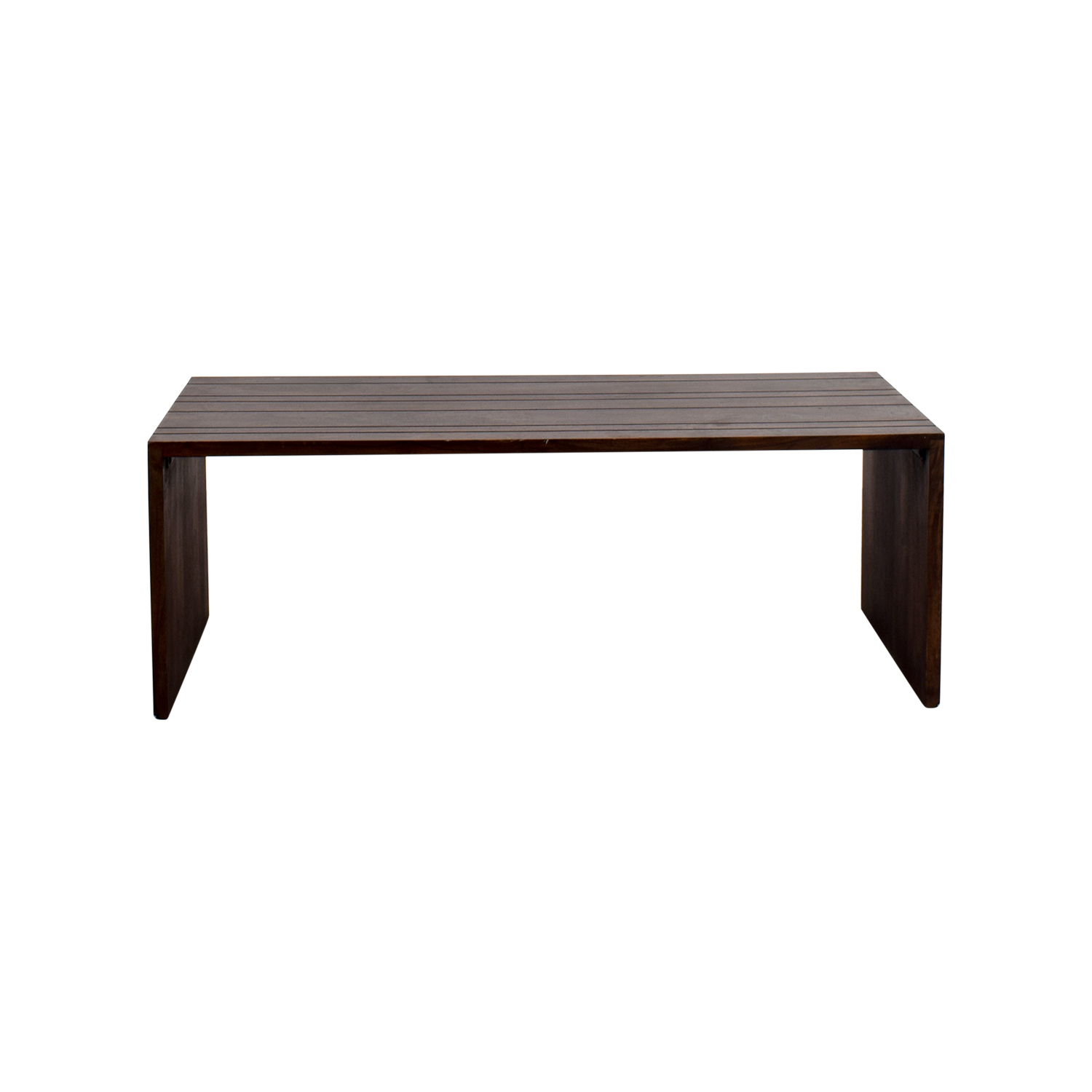 Pier 1 Pier 1 Wood Coffee Table nj