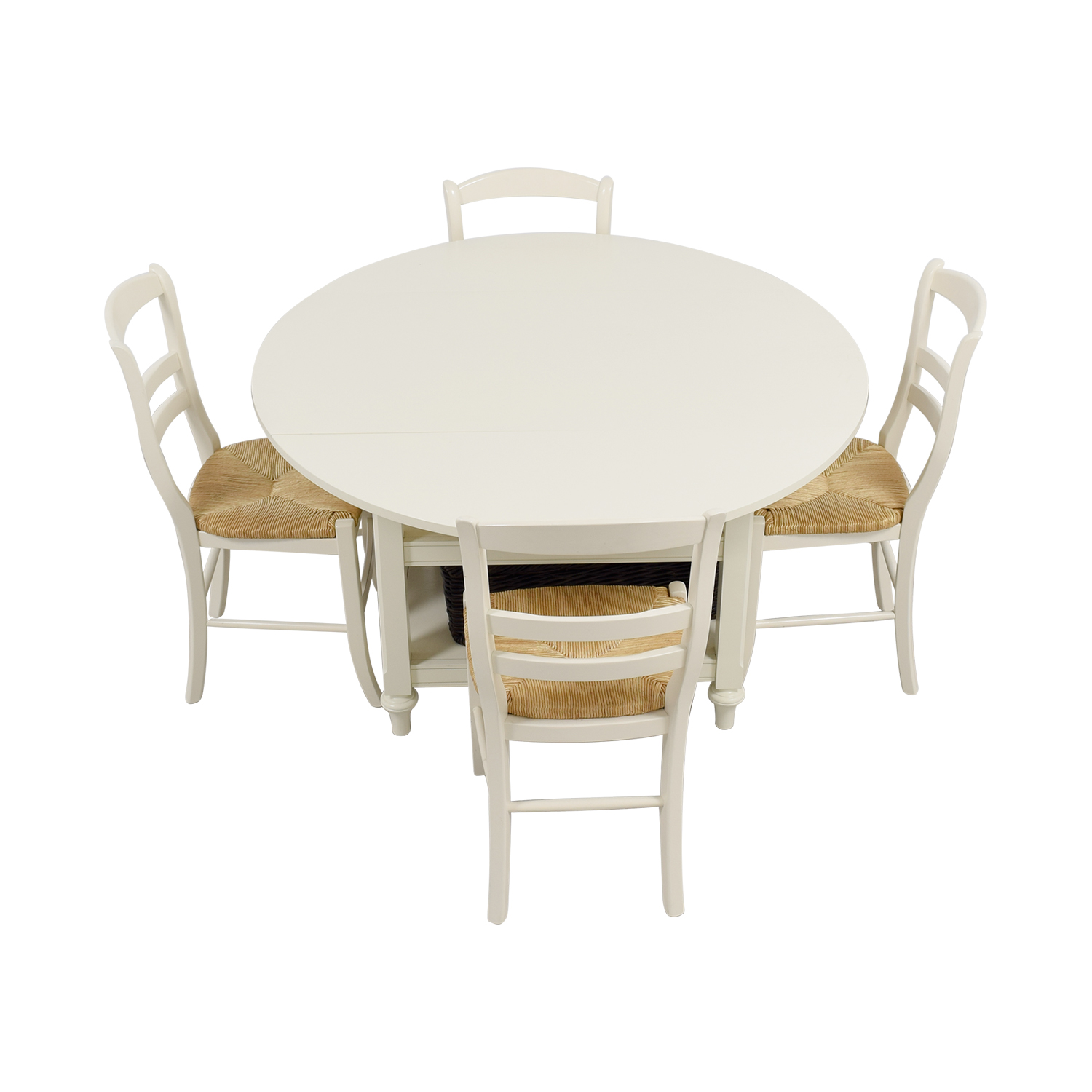 ... Pottery Barn Shayna Drop Leaf Table With Chairs Pottery Barn ...