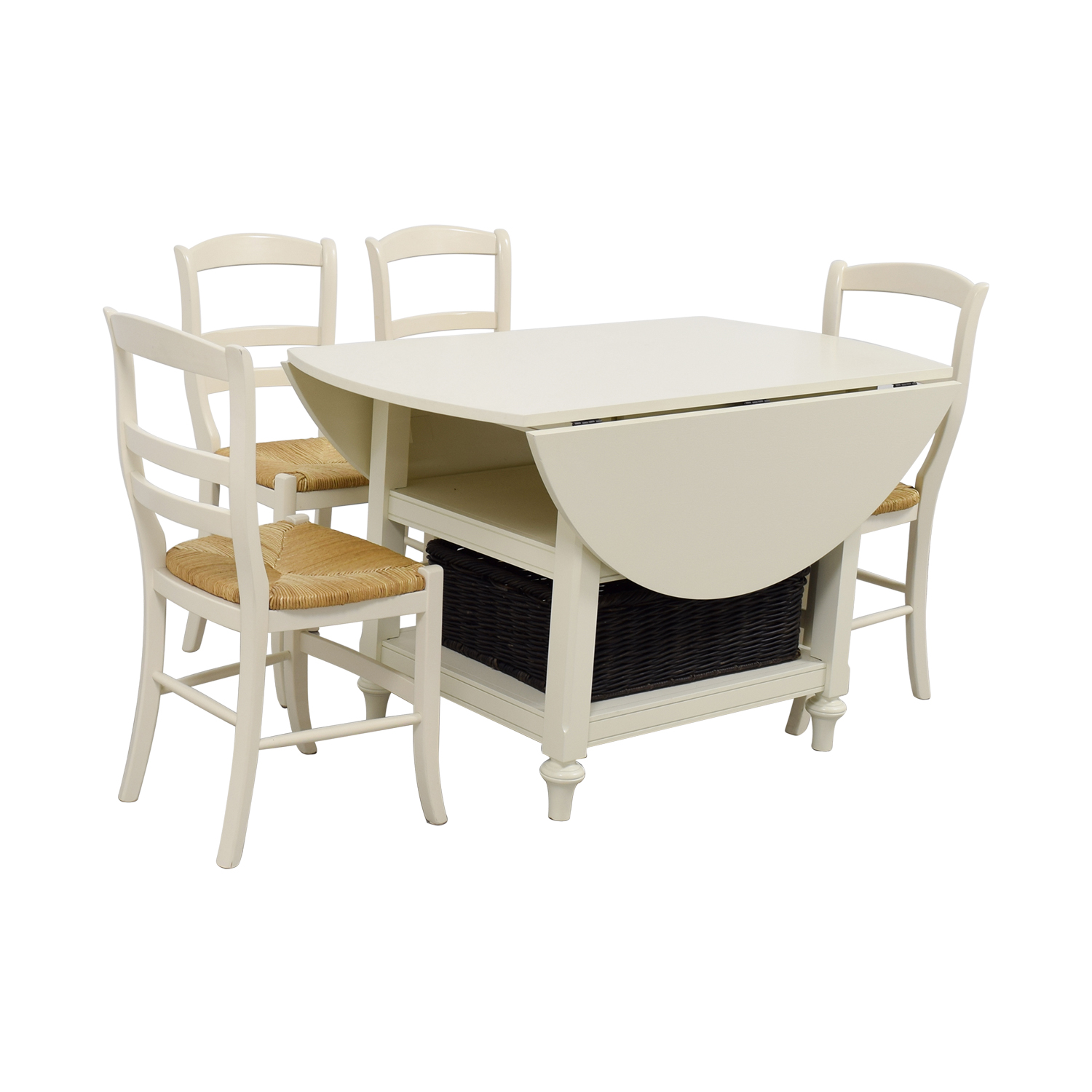 ... Buy Pottery Barn Shayna Drop Leaf Table With Chairs Pottery Barn Dinner  Tables ...