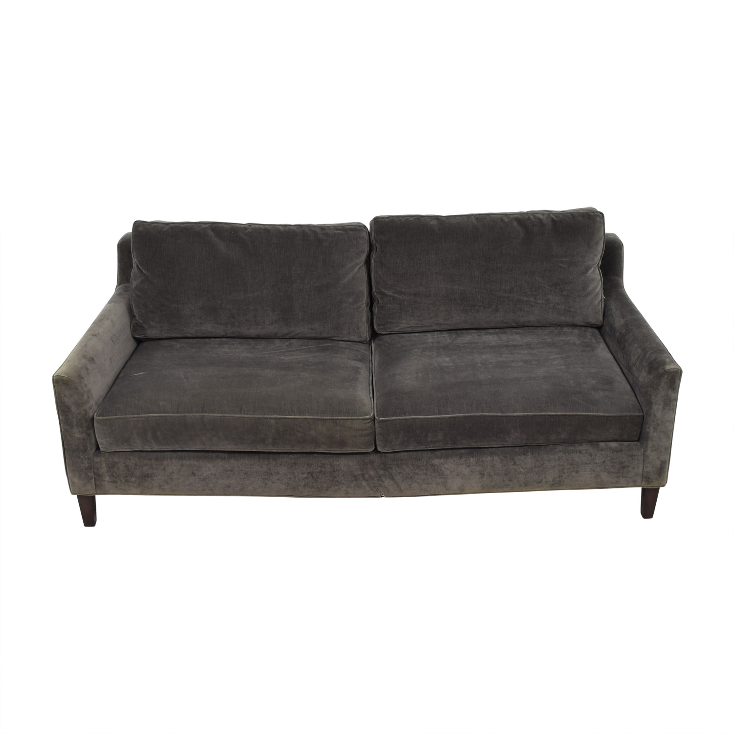 40% OFF Pottery Barn Pottery Barn Beverly Grey Sofa Sofas